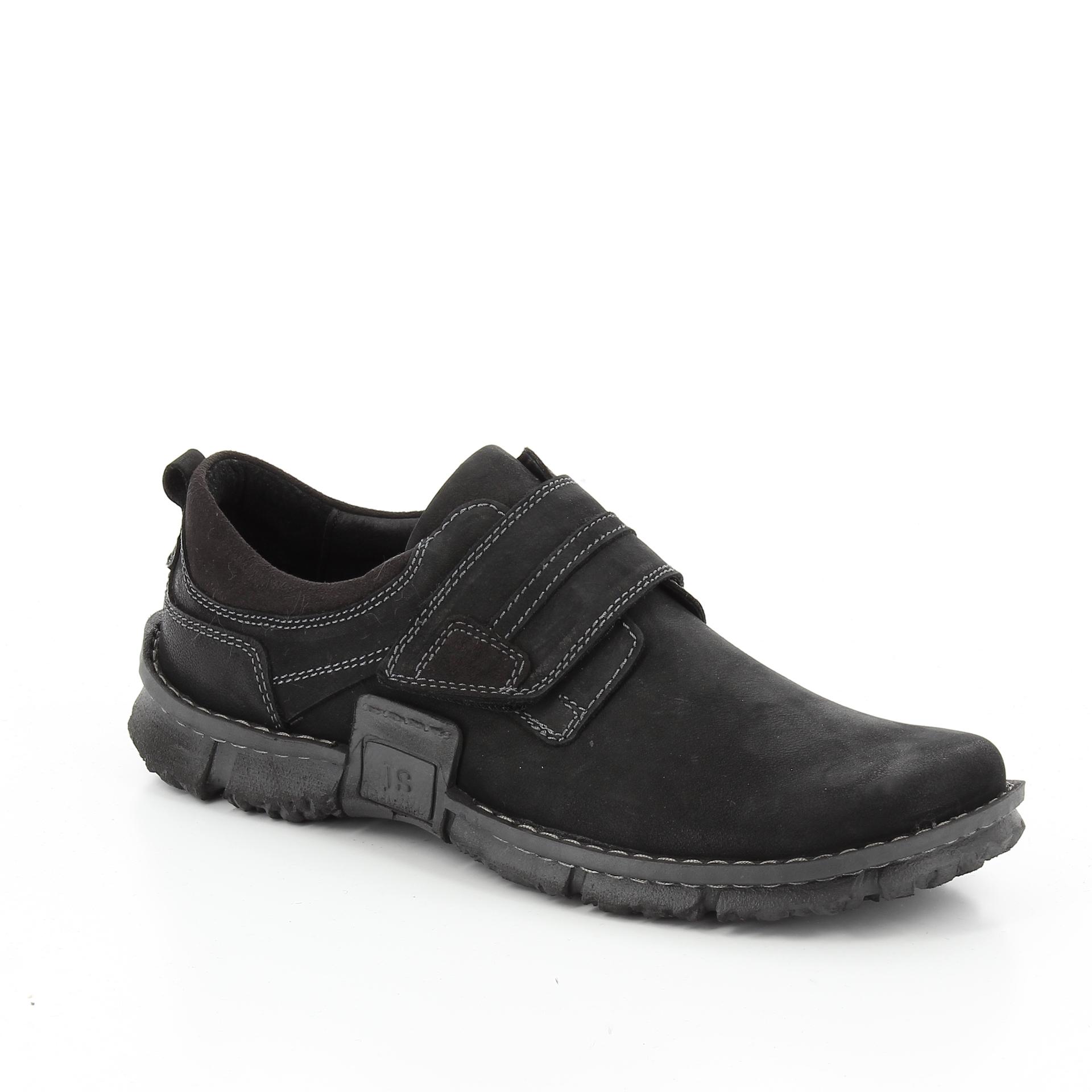 Bercolini Kényelmes cipők Josef Seibel, férfi fél bőr