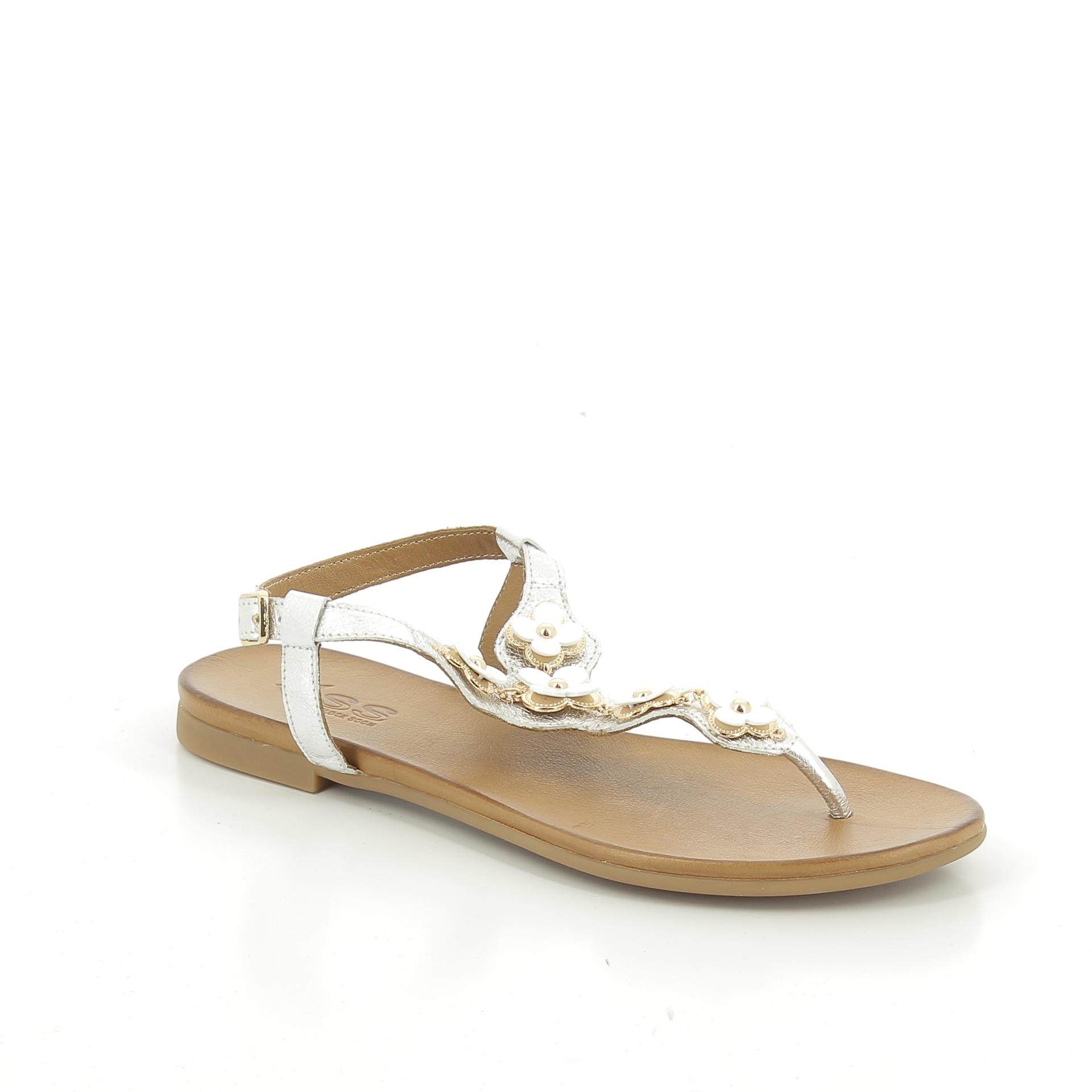 Bercolini Kényelmes cipők Sherlock Soon, női, szandál, bőr