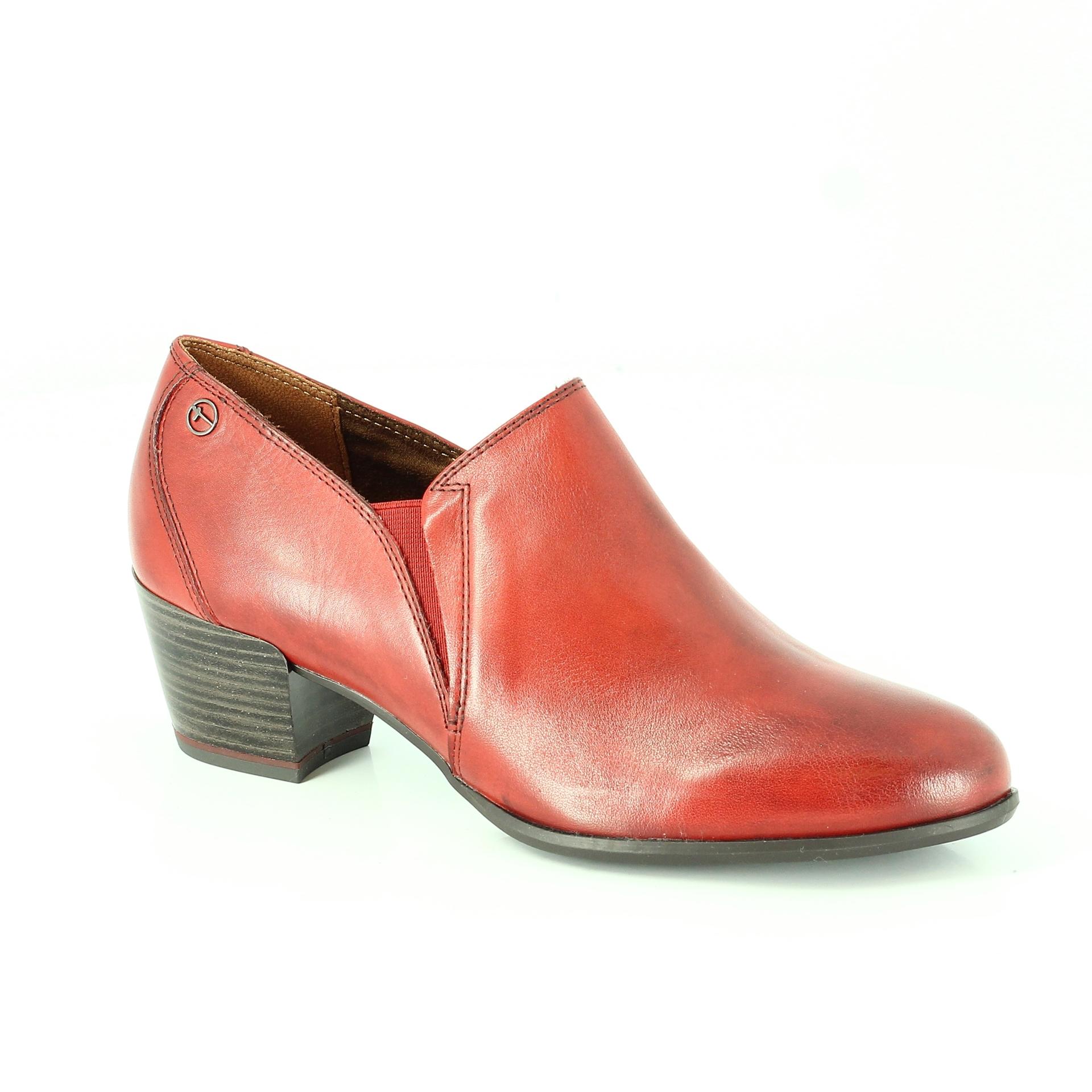 Bercolini Kényelmes cipők Tamaris, női, csizma , bőr