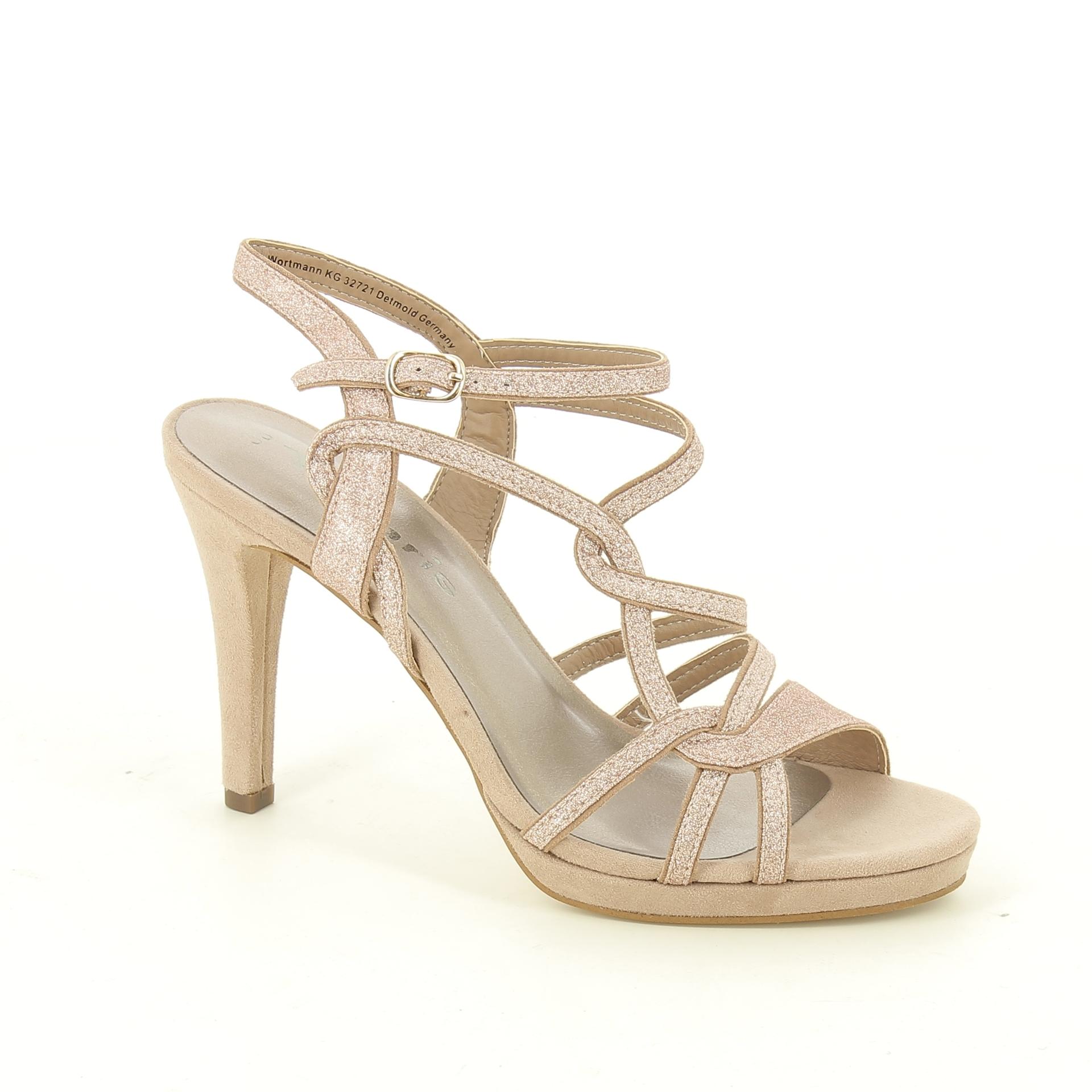 Bercolini Kényelmes cipők Tamaris, női, platform szandál