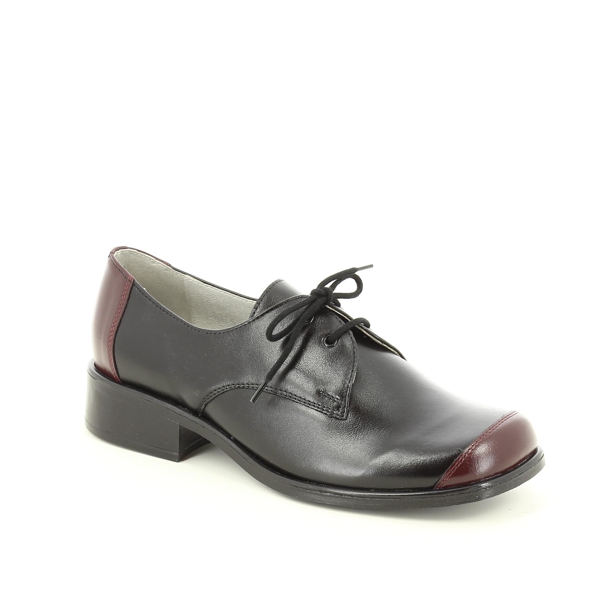 Bercolini Kényelmes cipők Estrella, női, fél, bőr