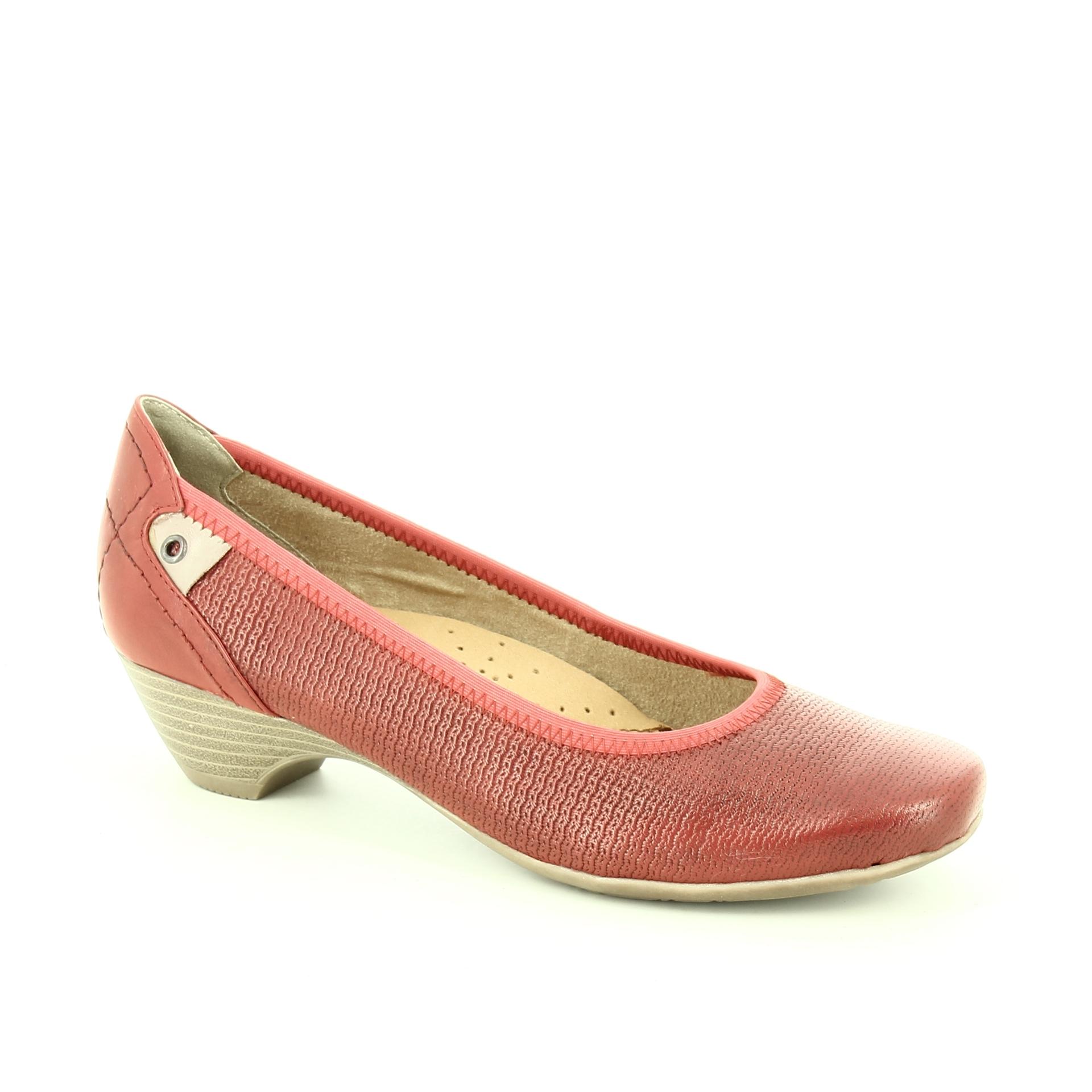 Bercolini Kényelmes cipők Jana, női, pumps, bőr